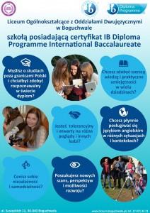 LOB szkołą posiadającą certyfikat IB DP